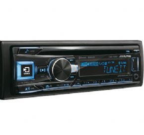 Alpine 193 CD tuner with USB & Bluetooth